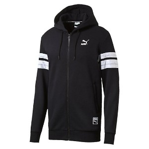 プーマ BBALL FULL ZIP HOODY メンズ Cotton Black