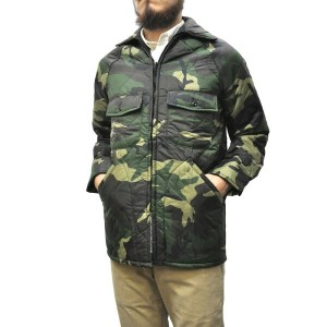 BRENTS(ブレンツ) 【MADE IN U.S.A】 DEADSTOCK NYLON RIPSTOP QUILTING JACKET(アメリカ製 デッドストック ナイロン リップストップ...