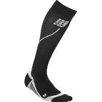 CEP CEP メンズ サイクリング ソックス【Progressive Run 2.0 Compression Socks】Black/Grey