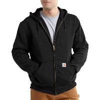 カーハート Carhartt メンズ アウター トレーナー・パーカー【Rain Defender Rutland Thermal Lined Full-Zip Hoodie】Black