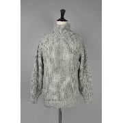 OLDDERBY KNITWEAR / 2×2 RIB TRAD POLONECK PULLOVER (2746P) IMPORT -Men-(インポート)