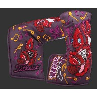 送料無料★スコッティーキャメロン ヘッドカバー SCOTTY CAMERON 2016 WEB.COM CROWFISH LOUISIANA OPEN HEADCOVER PURPLE 101178