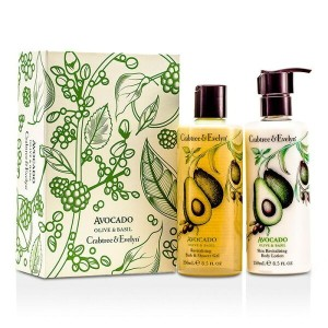 Crabtree & EvelynAvocado Olive & Basil Perfect Pair: Bath & Shower Gel 250ml + Body Lotion...