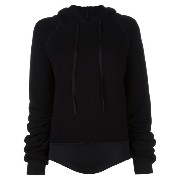 Unravel Project hooded bodysuit jumper