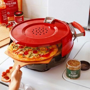 ピザオーブン ガスコンロ用Pizzacraft Pizzeria Pronto Stovetop Pizza Oven【RCP】