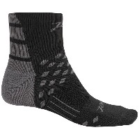 ズート Zoot Sports メンズ 自転車 ソックス【TT Cycling Socks - Quarter Crew】Black/Graphite