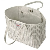 Cath Kidston キャスキッドソン Wicker Large Leather Trim Tote 506618 レディース トートバッグ『国内アウトレット品』