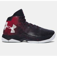Under Armour Curry 2.5キッズ/レディース Black/Red/Elemental アンダーアーマー カリー2.5 バッシュ ステフィン・カリー