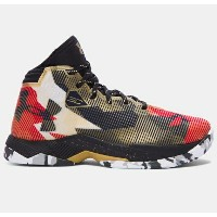 Under Armour Curry 2.5キッズ/レディース Heavy Metal/Black アンダーアーマー カリー2.5 バッシュ ステフィン・カリー