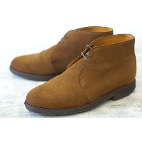Alfred Sargent アルフレッドサージェント/boots/shoe/靴 ブーツ SHIPS銀座 別注 シップス デザートブーツ 【中古】 SUEDE...