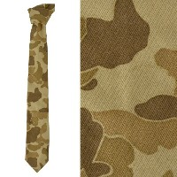 HOLIDAY'S GARAGE ホリデーズ ガレージ ネクタイ 迷彩 細身 DUCK CAMO TIE 【marquee】