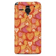 【送料無料】 fireheart レッド produced by COLOR STAGE / for AQUOS PHONE Xx 206SH/SoftBank 【Coverfull】【ハードケース...