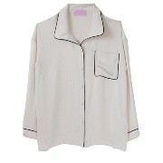 Honey mi Honey satin pajamasblouse* ハニーミーハニー【送料無料】