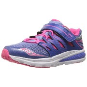 Saucony ガールズ Zealot 2 A/C スニーカー (Little Kid), Periwinkle/Pink, 2.5 M US リトル キッド (海外取寄せ品)
