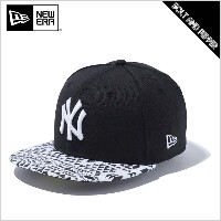 NEWERA ニューエラ 59FIFTY KIDS NATIVE BW NEWYORK YANKEES SNAPBACK CAP YOUTH BLACK WHITE キッズ ユース ニューヨーク...