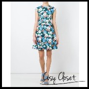 CARVEN 2016SS☆flared floral dress CARVEN(カルヴェン) バイマ BUYMA