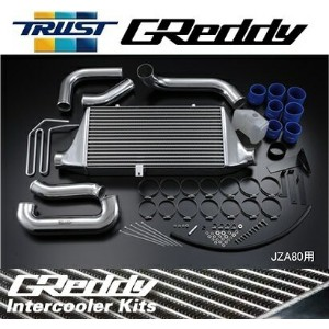 TRUST【トラスト】 GReddy インタークーラーキットTYPE24F (コアサイズ:H284/L600/W66)マークII JZX100 1JZ-GTE 96.09〜00.10