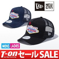 【50%OFF SALE】ニューエラ/ニューエラ 日本正規品/キャップ メッシュキャップ ラスベガスモチーフ 9FORTY D-Frame Trucker Lasvegas Signboard...