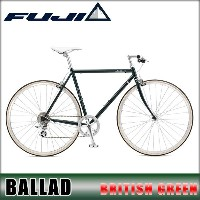 フジ FUJI 正規販売店 自転車 FUJI 2017 BALLAD (CROSS BIKE) BRITISH GREEN