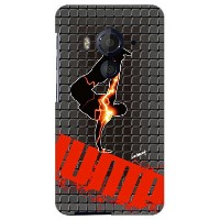 【送料無料】 breakin-black×yellow design by ARTWORK / for HTC J butterfly HTV31/au 【Coverfull】【ハードケース...