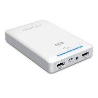 RAVPower 16750mAh 4.5A デュアル USB Output Portable Charger External バッテリー パック Power Bank with iSmart...
