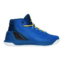 """Under Armour Curry 3 """"DUB NATION HERITAGE""""キッズ/レディース Team Royal/Caspian/Taxi アンダーアーマー バッシュ カリー3..."""