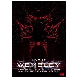 バップ 「LIVE AT WEMBLEY ARENA」BABYMETAL WORLD TOUR 2016 kicks off at THE SSE ARENA WEMBLEY (2016.4.2) ...