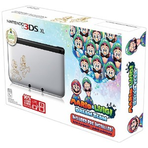 Nintendo 3DS XL Silver Mario & Luigi Limited Edition(輸入版:北米)