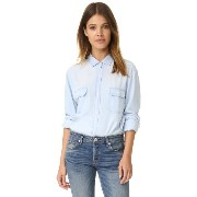 レイルズ RAILS レディース トップス シャツ【Kendall Button Down Shirt】Light Vintage Wash