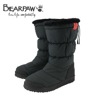 ◇20%OFF! ◇16FW Bearpaw(ベアパウ) Snow Fashion Long SNKR3 BLACK レディースブーツ
