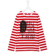 Burberry Kids Use Your Head Tシャツ