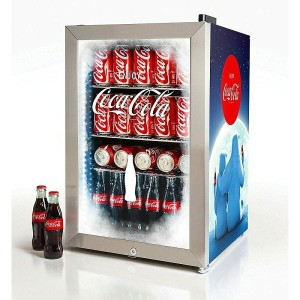 レトロ ノスタルジア コカ・コーラ 冷蔵庫 68L 80缶 Nostalgia BC24COKE Coca-Cola 80-Can Commercial Beverage Cooler
