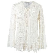 Martha Medeiros lace tunic