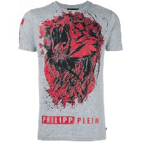 Philipp Plein - Lion Roar Tシャツ - men - コットン - M