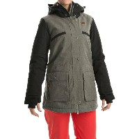 オラージュ Orage レディース スキー ウェア【Deal Ski Jacket - Waterproof, Insulated】G108 Heather Grey