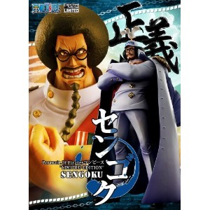 "Portrait.Of.Pirates ワンピースシリーズ ""LIMITED EDITION"" センゴク 【流通限定品】 / ONE PIECE Excellent Model【中古・良】"