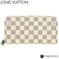 【LOUIS VUITTON/ルイ・ヴィトン】ダミエ・アズール ジッピー・ウォレット N41660 新型【中古】≪送料無料≫