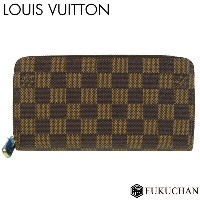 【LOUIS VUITTON/ルイ・ヴィトン】ダミエ・エベヌ ジッピー・ウォレット N41661 新型【中古】≪送料無料≫