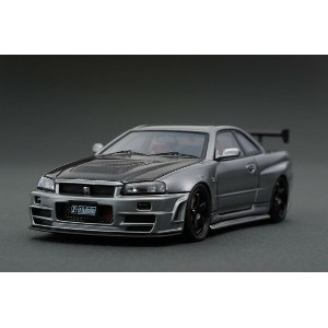 ignition model 1/43 NISMO R34 GT-R Z-tune ガンメタリック (NISMO LM GT4ホイール)