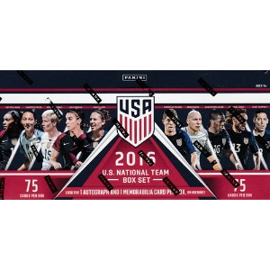 2016 Panini U.S. Soccer Box Set 10/19発売!
