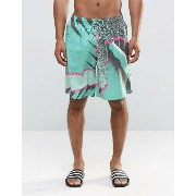 Boardies Graphic Print Board Shorts ショーツ
