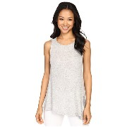 B Collection by Bobeau Effie Split Asymmetric Knit Tank Top