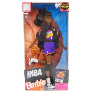 NBA サンズ バービー人形 1998 Barbie Collectibles African American レアモデル