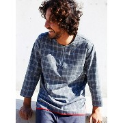 rehacer Check Pull over Shirt レアセル【先行予約】*【送料無料】