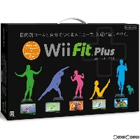 【Wエントリーでポイント8倍!+クーポン】【中古】[Wii]Wii Fit Plus(Wiiフィット プラス) バランスWiiボード(クロ)セット(20111202)【RCP】