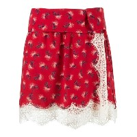 Talie Nk silk printed skirt
