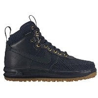 (取寄)ナイキ メンズ ルナ フォース 1 ダックブーツ Nike Men's Lunar Force 1 Duckboots Dark Obsidian Gum Light Brown Dark...