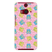 【送料無料】 ビーチサンダル ピンク produced by COLOR STAGE / for HTC J butterfly HTL23/au 【Coverfull】au htl23 htc j...