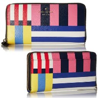 ケートスペード Cedar Street Flag Stripes Lacey Wallet kate spade new york(ケイトスペード) バイマ BUYMA