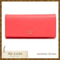 TED BAKER【テッドベイカー】ミニリボン付き長財布♪ TED BAKER(テッドベイカー ) バイマ BUYMA